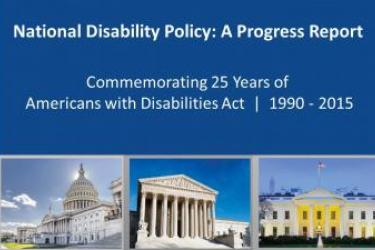 NCD Progress Report Celebrates 25 Years of ADA, Envisions Next 25