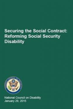 Securing the Social Contract: Reforming Social Security Disability